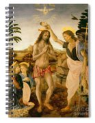The Baptism Of Christ By John The Baptist Spiral Notebook