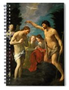 The Baptism Of Christ Spiral Notebook