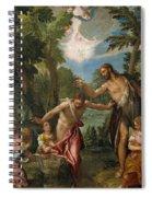 The Baptism Of Christ Spiral Notebook