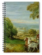 The Baptism Of The Ethiopian Eunuch Spiral Notebook