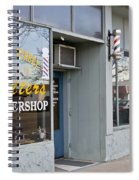 The Barber Shop 3 Spiral Notebook