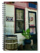 The Barber Shop From A Different Era Spiral Notebook