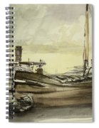 The Barge Spiral Notebook