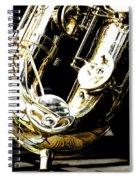 The Baritone Saxophone  Spiral Notebook