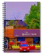 The Barley Mow Pub Urban Eatery Old Ottawa The Glebe British Irish Restaurant Ottawa Scenes Cspandau Spiral Notebook