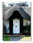 The Barn House Door Nether Wallop Spiral Notebook
