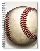 The Baseball Spiral Notebook