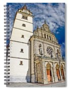 The Basilica In Mary Of Bistrica Spiral Notebook