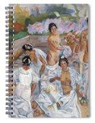 The Bath Spiral Notebook