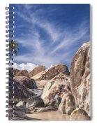 The Baths Virgin Gorda Spiral Notebook