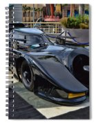The Batmobile Spiral Notebook