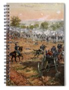 The Battle Of Gettysburg, July 1st-3rd Spiral Notebook