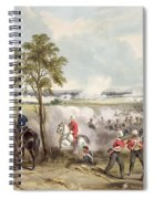 The Battle Of Goojerat On 21st February Spiral Notebook