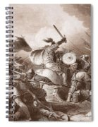 The Battle Of Hastings, Engraved Spiral Notebook