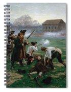 The Battle Of Lexington, 19th April 1775 Spiral Notebook