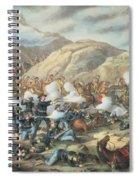The Battle Of Little Big Horn, June 25th 1876 Spiral Notebook