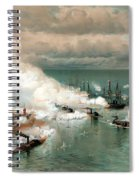 The Battle Of Mobile Bay Spiral Notebook