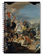 The Battle Of Vercellae Spiral Notebook