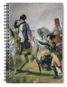 The Battle Of Wagram, 6th July 1809, 1836 Oil On Canvas Spiral Notebook