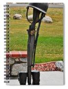 The Battlefield Cross Spiral Notebook