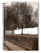 The Battlefield Line Spiral Notebook
