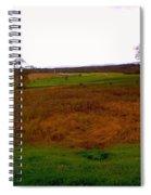 The Battlefield Of Gettysburg Spiral Notebook