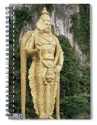 The Batu Caves Spiral Notebook