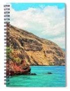 The Bay At Kealakekua Spiral Notebook