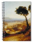 The Bay Of Baiae With Apollo And The Sibyl Spiral Notebook