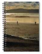 The Beach At Mounts Bay Spiral Notebook