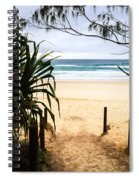 The Beach At Salt Spiral Notebook