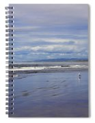 The Beach At Seaside Spiral Notebook