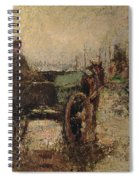 The Beach At St Ives Spiral Notebook