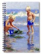 The Beach Pail Spiral Notebook