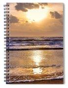 The Beach Part 2 Spiral Notebook