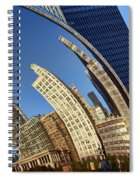 The Bean - 1 - Cloud Gate - Chicago Spiral Notebook