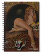 The Beast Is Never Far From Beauty Spiral Notebook