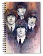 The Beatles 02 Spiral Notebook