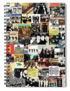 The Beatles Collage Spiral Notebook