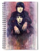 The Beatles John Lennon And Paul Mccartney Spiral Notebook