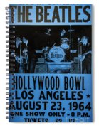 The Beatles Live At The Hollywood Bowl Spiral Notebook