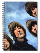 The Beatles Rubber Soul Spiral Notebook