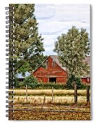 The Beauty Of A Farm Spiral Notebook