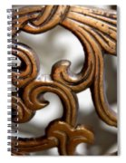 The Beauty Of Brass Scrolls 1 Spiral Notebook