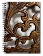 The Beauty Of Brass Scrolls 2 Spiral Notebook