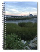 The Beauty Of Connecticut's Shoreline Spiral Notebook