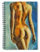 The Beauty Of Female Body Spiral Notebook