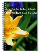 The Beauty Of Flowers Spiral Notebook