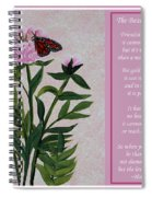 The Beauty Of Friendship Spiral Notebook