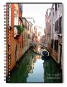 The Beauty Of Venice Spiral Notebook